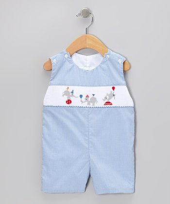 Sweet Teas Blue Gingham John Johns - Infant & Toddler