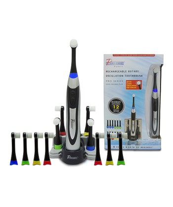 Rechargeable Rotary Toothbrush Set