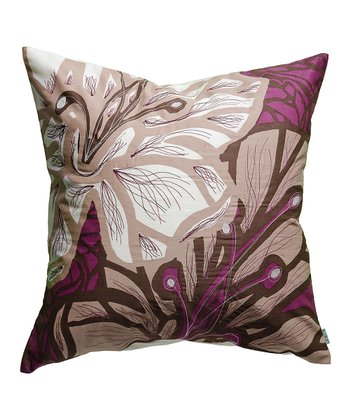 Wine & Coco Flora Pillow