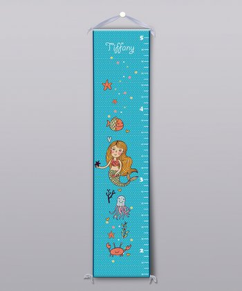 Mermaid Personalized Growth Chart
