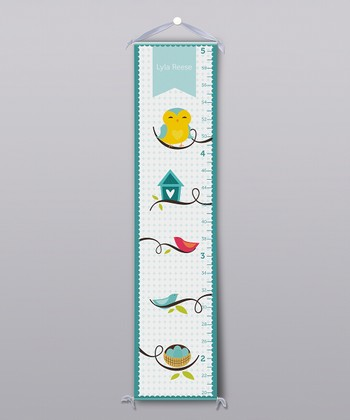 Playful Owls Personalized Growth Chart
