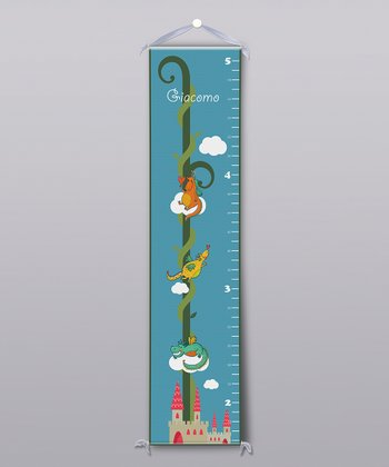 Cute Dragons Personalized Growth Chart