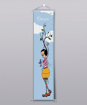Growing Tall Personalized Growth Chart