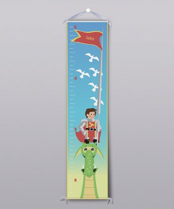 Dragon Knight Personalized Growth Chart