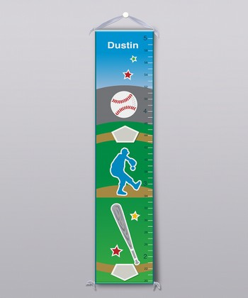Baseball Personalized Growth Chart