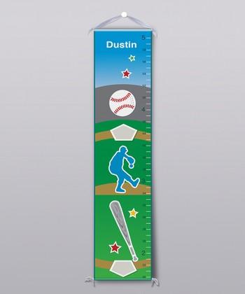 Baseball Personalized Growth Chart