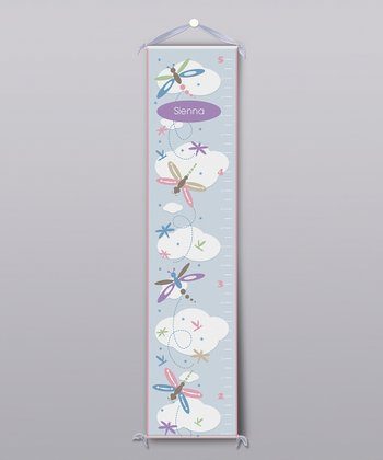 Dragonflies Personalized Growth Chart