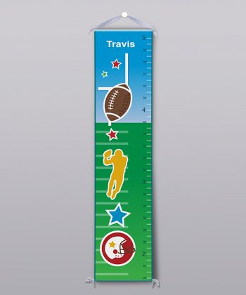 Football Personalized Growth Chart