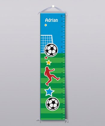 Soccer Personalized Growth Chart