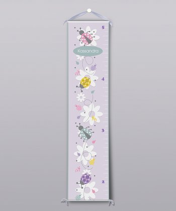 Ladybugs Personalized Growth Chart