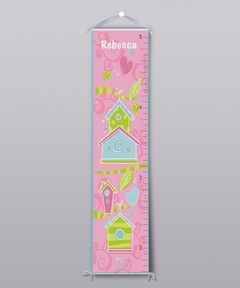 Birdhouse Personalized Growth Chart