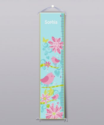 Birds Personalized Growth Chart