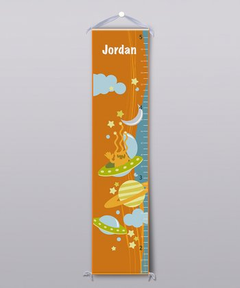 Aliens Personalized Growth Chart
