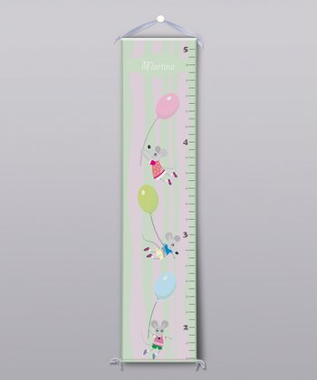 Floating Mice Personalized Growth Chart