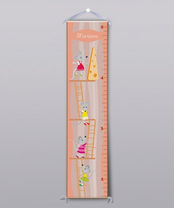 Mice Ladders Personalized Growth Chart