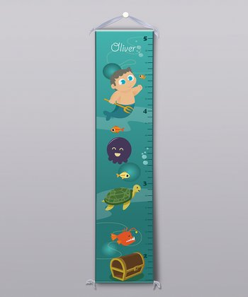 Undersea Personalized Growth Chart