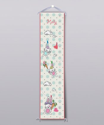 Bunnies Personalized Growth Chart