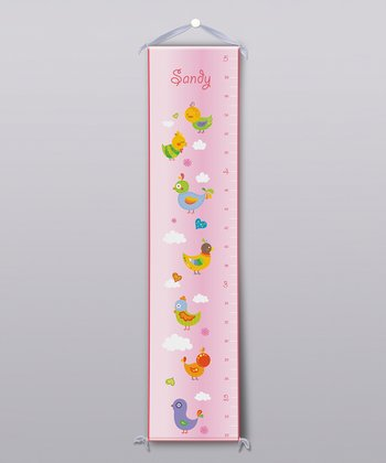 Chicks Personalized Growth Chart