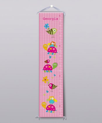 Animal Rides Personalized Growth Chart