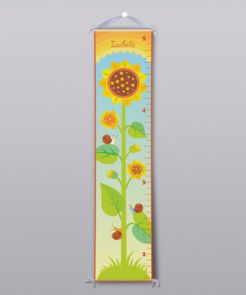 Sunflower Personalized Growth Chart