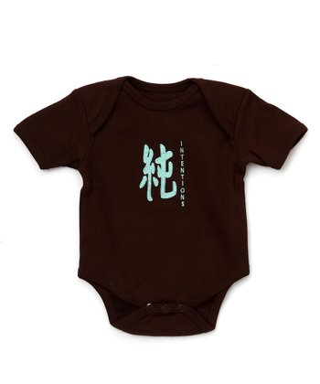Brown Pure Organic Bodysuit - Infant