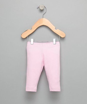 Pink Organic Capri Leggings - Infant & Toddler