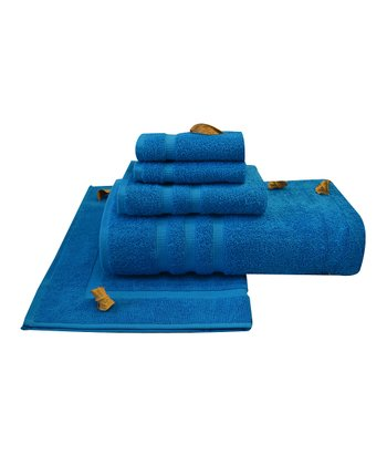 Blue Liat Towel Set