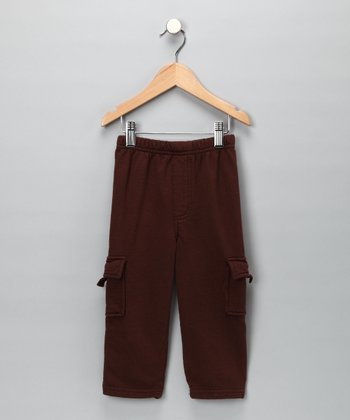 Chocolate Cargo Pants - Toddler & Boys