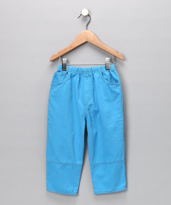 City Blue Twill Pants - Infant, Toddler & Boys