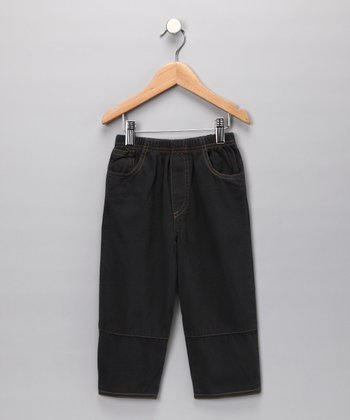 Charcoal Twill Pants - Infant, Toddler & Boys