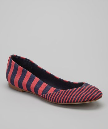 Pepper Stripe Napa Ballet Flat