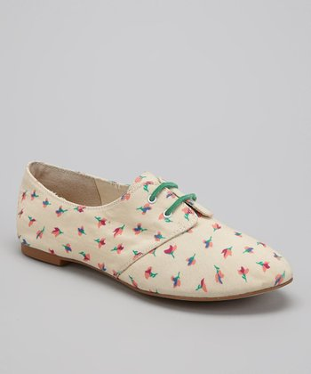 Natural Floral Nickerie Shoe