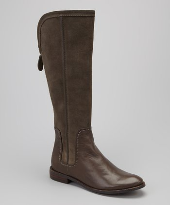 Brown Suede Tulsa Boot