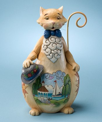 Summer Cat Figurine
