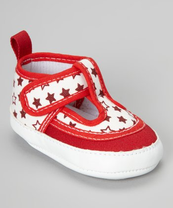 Red Star T-Strap Shoe