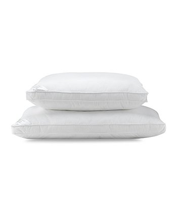 White Micro Gel Pillow - Set of Two