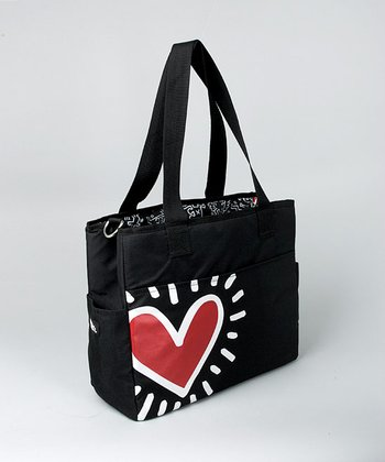 Graffiti Heart Grande Diaper Bag