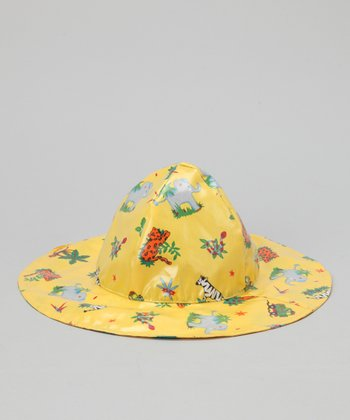 Yellow Safari Rain Hat