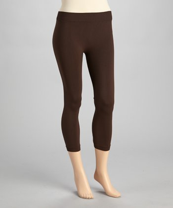 Espresso Capri Leggings - Women & Plus