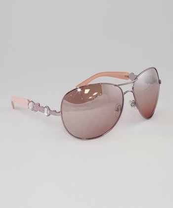 Rose Embellished Sunglasses