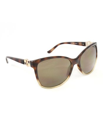 Tortoise & Bone Butterfly Sunglasses