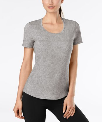 Phantom Gray Heather Workout Tee