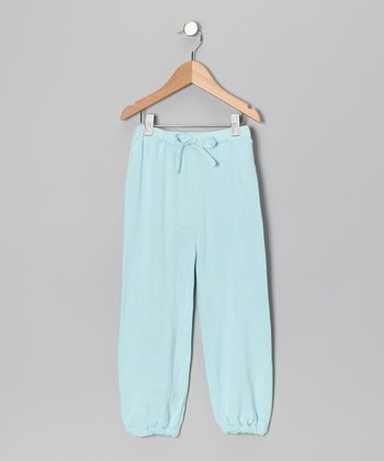 Little Bird Blue Organic Sweatpants - Infant & Toddler