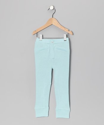 Little Bird Blue Organic Sweater Leggings - Infant