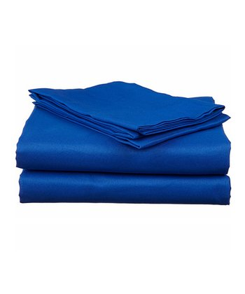 Blue Bright Microfiber Sheet Set