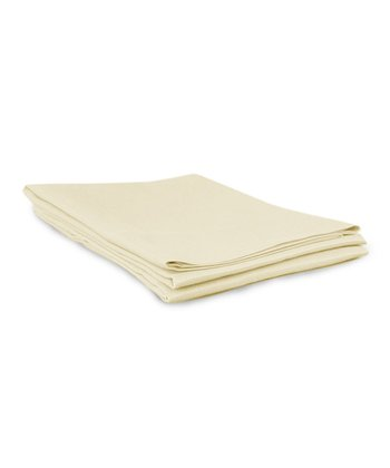 Ivory Sateen Pillowcase - Set of Two
