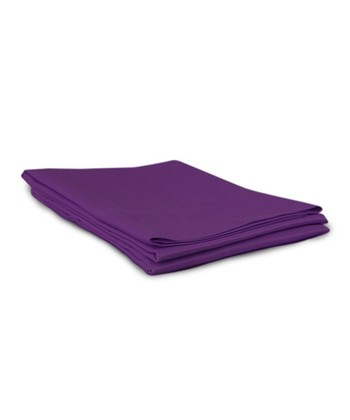 Purple Sateen Pillowcase - Set of Two