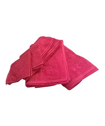 Hot Pink Rampage Six-Piece Towel Set