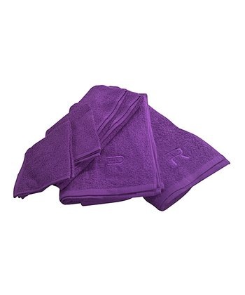 Plum Rampage Six-Piece Towel Set