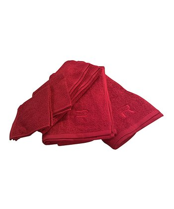 Red Rampage Six-Piece Towel Set